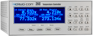 Cryo-con Model 26 cryogenic temperature controller